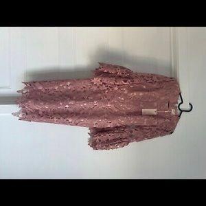 X - Small Rachel Parcell cocktail dress. Blush.